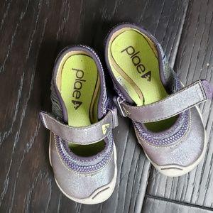 Plae Girl Mary Jane Shoe Size 8
